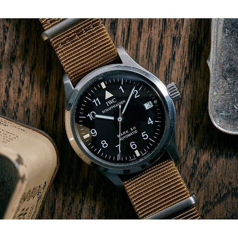 iwc  vintage watch military