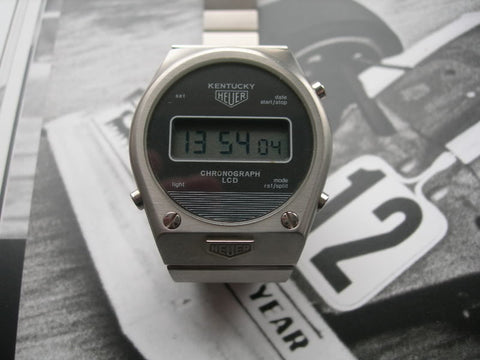 Heuer Kentucky LCD