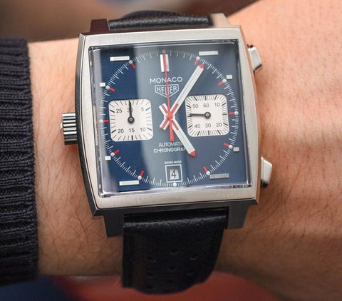 heuer monaco vintage watch