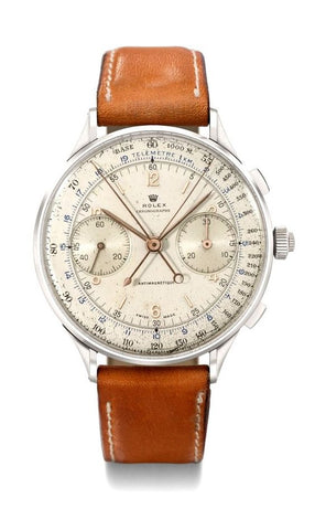rolex triple register chronograph  vintage watch