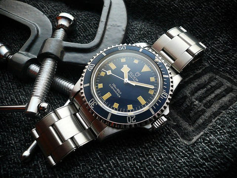 tudor submariner snowflake  vintage watch
