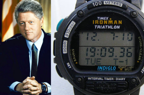 Bill Clinton vintage watch