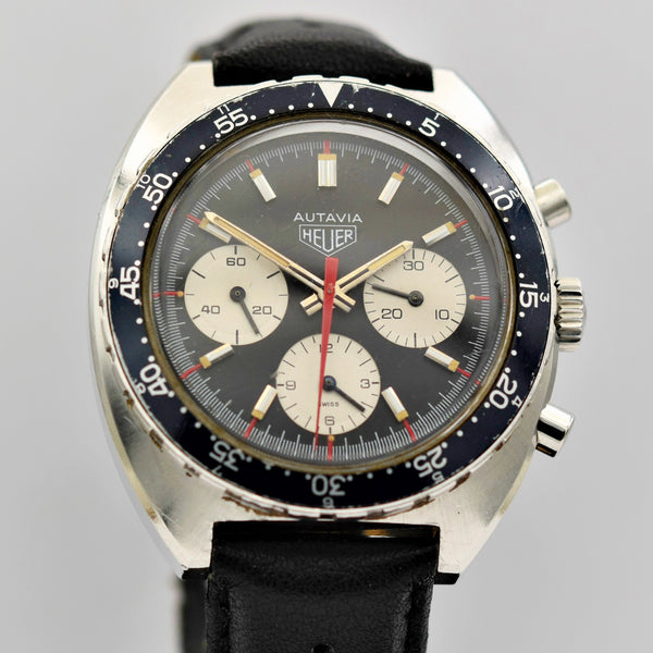 HEUER AUTAVIA - Ref. 73663 Valjoux 7736 Vintage Watches - Ashton-Blakey Vintage Watches