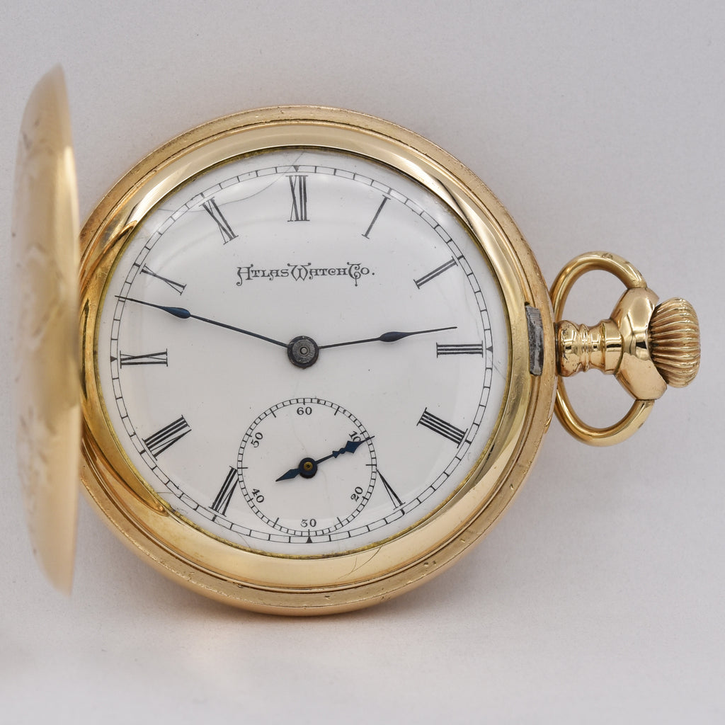ATLAS POCKET WATCH Pocket Watches - Ashton-Blakey Vintage Watches