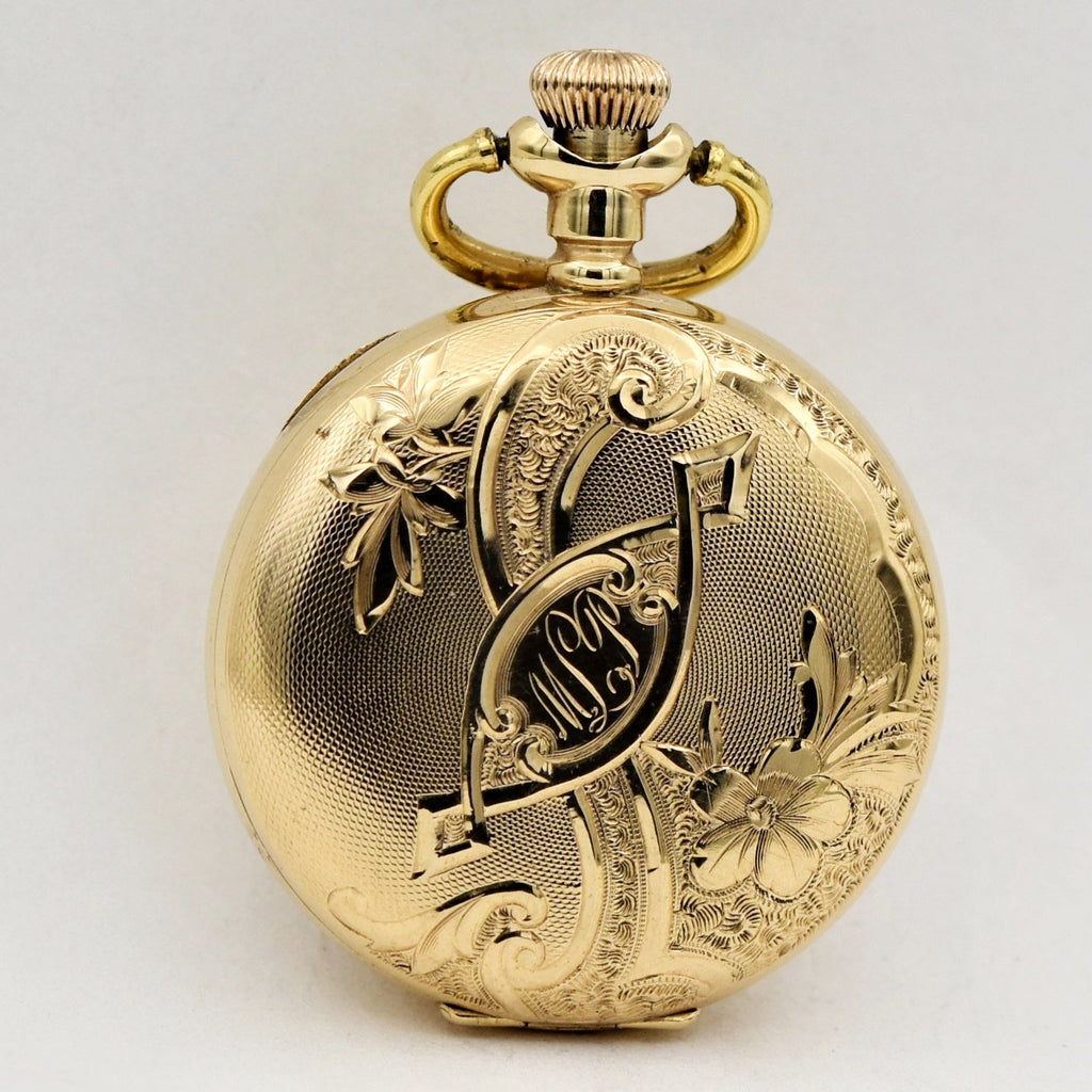 WALTHAM 14K GOLD Lady's Pocketwatch Pocket Watches - Ashton-Blakey Vintage Watches