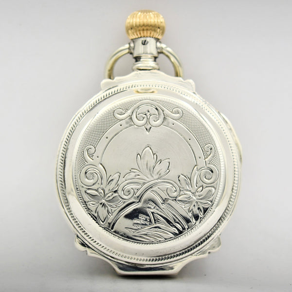 ELGIN Silver Pocket Watch Pocket Watches - Ashton-Blakey Vintage Watches