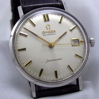 OMEGA SEAMASTER with DATE - Stainless steel Vintage Watch Vintage Watches - Ashton-Blakey Vintage Watches