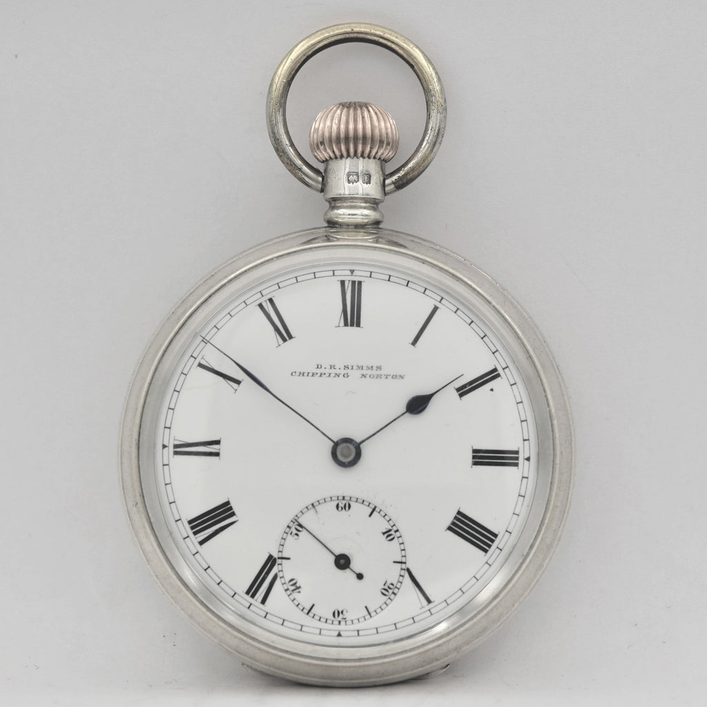 ENGLISH Silver Pocket Watch Pocket Watches - Ashton-Blakey Vintage Watches