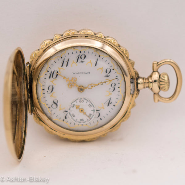WALTHAM POCKET WATCH WITH MULTICOLOR DIAL Pocket Watches - Ashton-Blakey Vintage Watches