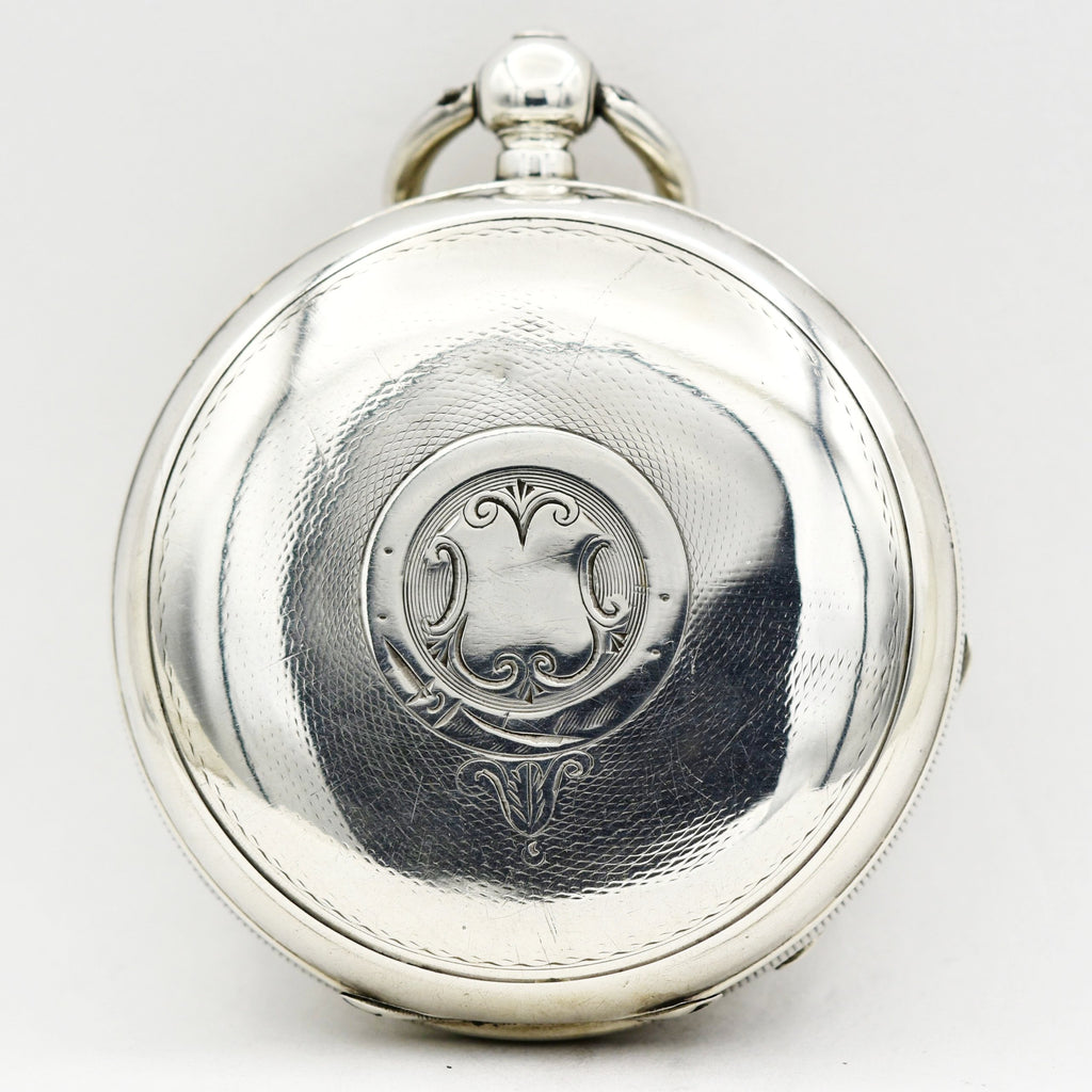 ENGLISH - Pocket Watch Sterling Silver Pocket Watches - Ashton-Blakey Vintage Watches