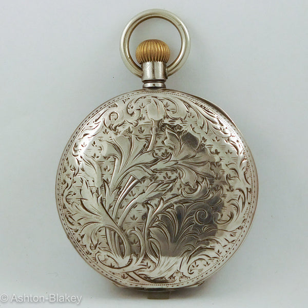 OMEGA ART NOUVEAU POCKET WATCH Pocket Watches - Ashton-Blakey Vintage Watches