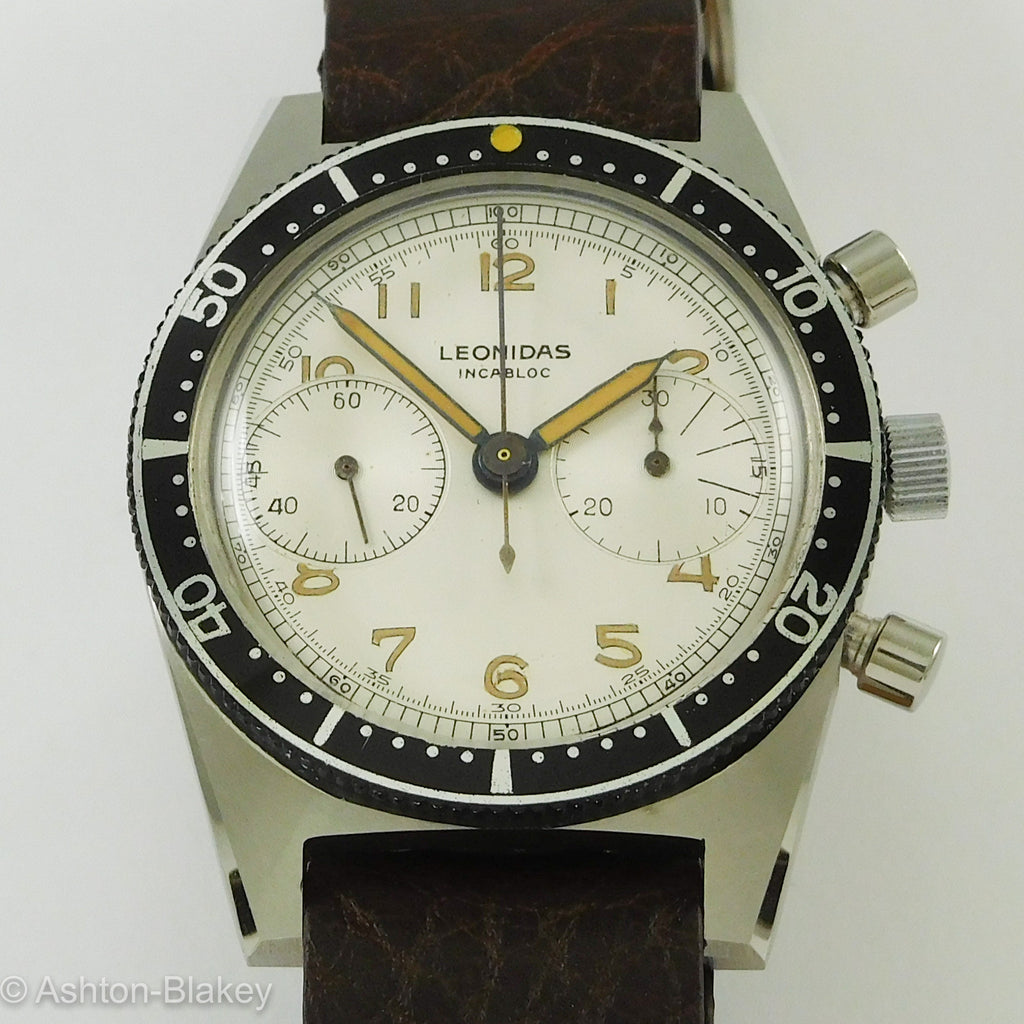 Leonidas Chronograph Vintage Watches - Ashton-Blakey Vintage Watches