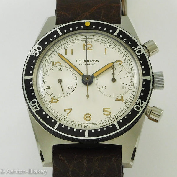 Leonidas Chronograph Wrist Watches - Ashton-Blakey Vintage Watches