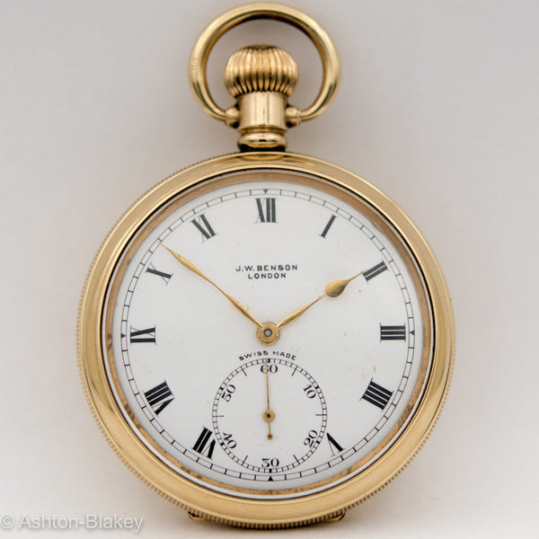JW BENSON POCKET WATCH