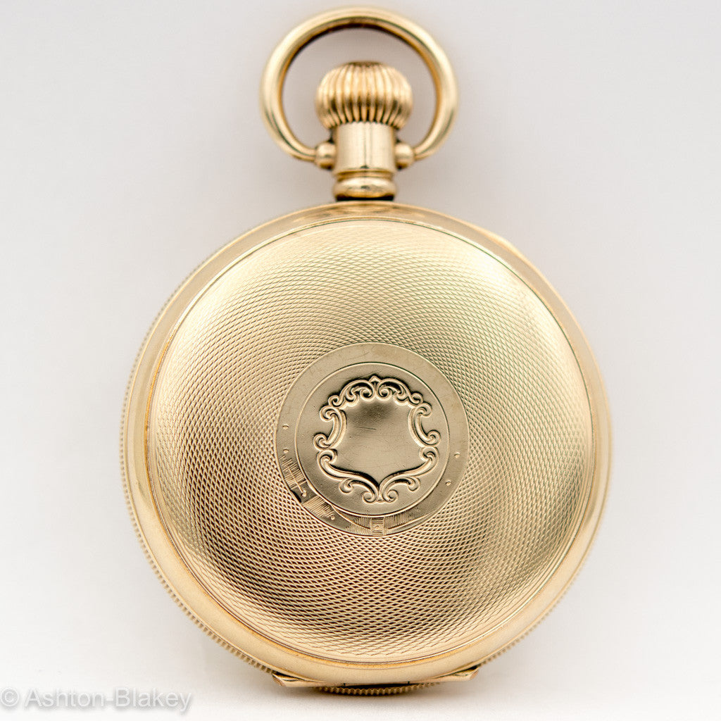 JW BENSON POCKET WATCH Pocket Watches - Ashton-Blakey Vintage Watches