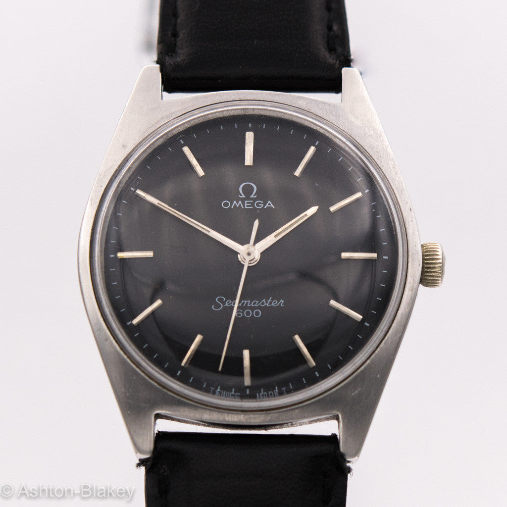 OMEGA STAINLESS STEEL WRIST WATCH Wrist Watches - Ashton-Blakey Vintage Watches