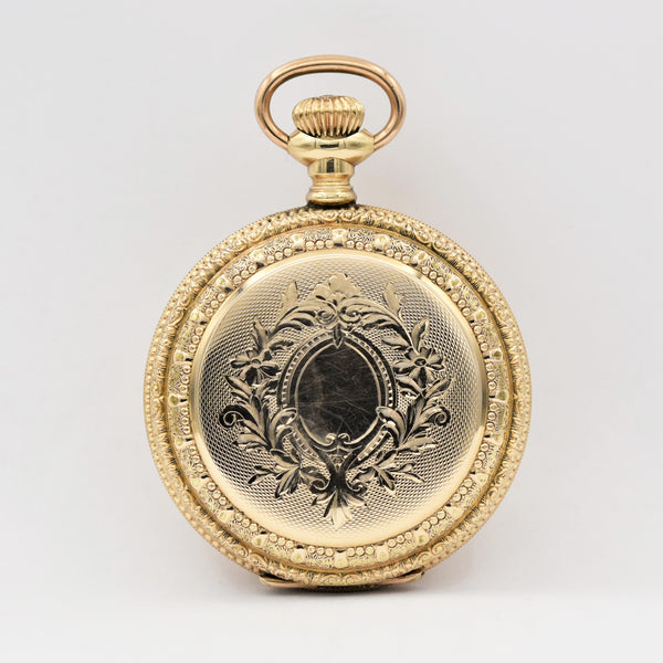 ELGIN 14K GOLD Pocket Watch Pocket Watches - Ashton-Blakey Vintage Watches