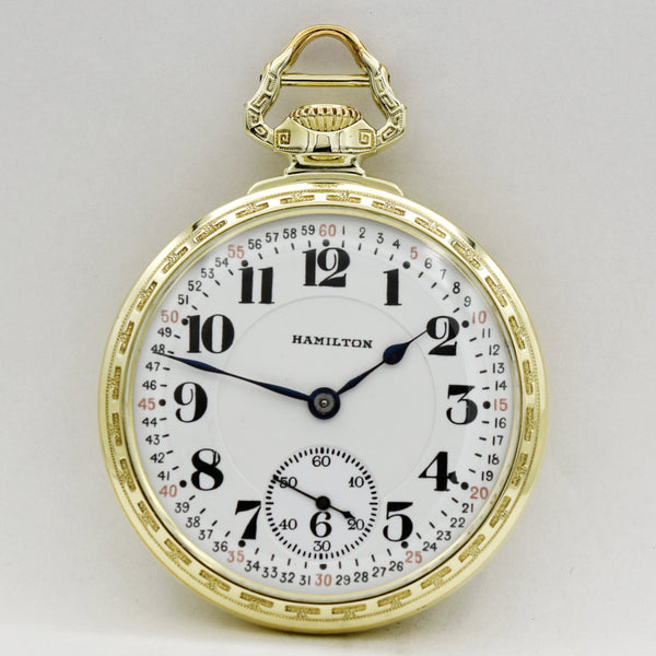 HAMILTON Railroad 992 Pocket Watches - Ashton-Blakey Vintage Watches