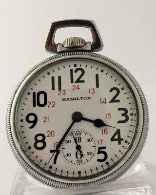 HAMILTON 992B Military Pocket Watch Pocket Watches - Ashton-Blakey Vintage Watches