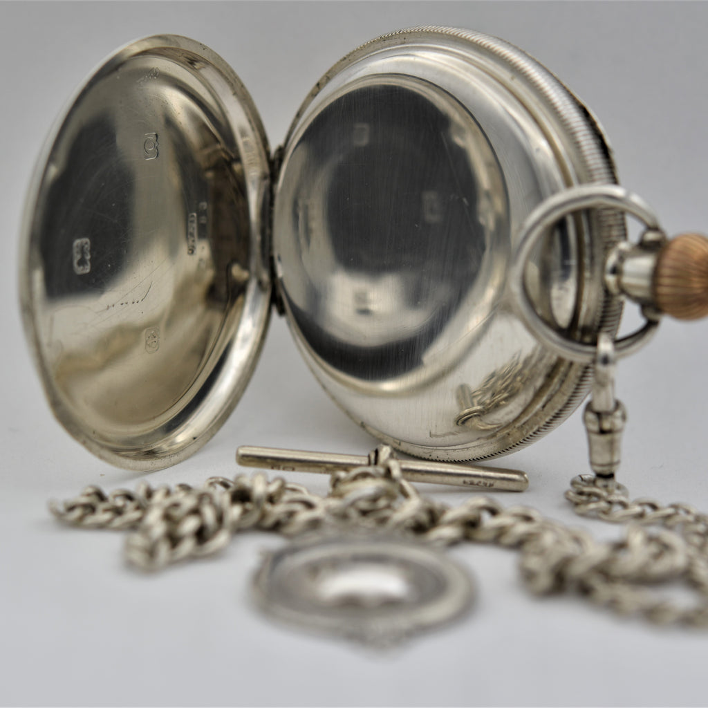ENGLISH  Pocket Watch Pocket Watches - Ashton-Blakey Vintage Watches