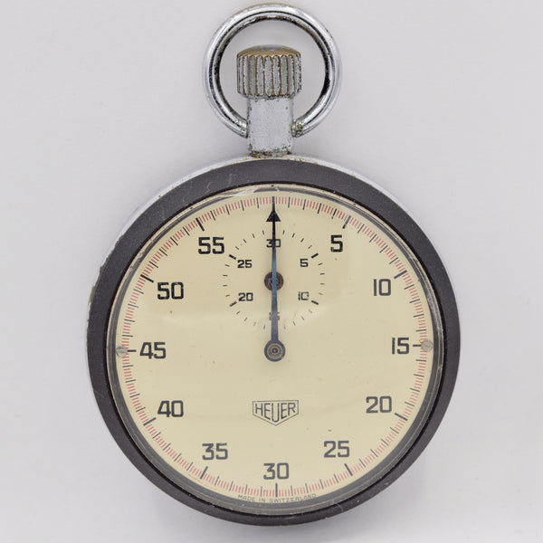 HEUER Stopwatch Pocket Watches - Ashton-Blakey Vintage Watches