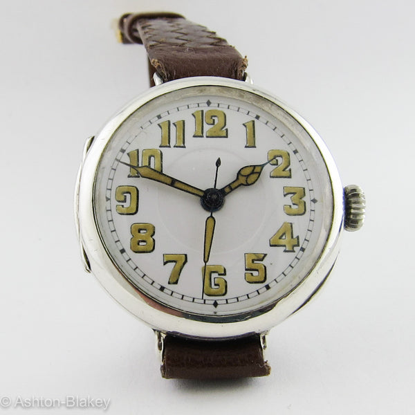 ROLEX STERLING SILVER DOCTOR'S WATCH Vintage Watches - Ashton-Blakey Vintage Watches