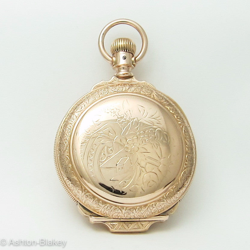 Elgin Pocket watch Large size 18 with Box Hinge Pocket Watches - Ashton-Blakey Vintage Watches