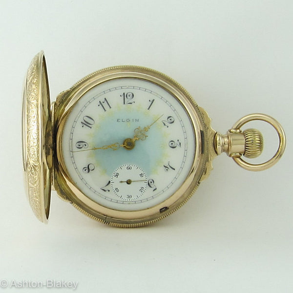 Elgin Pocket watch Large size 18 with Box Hinge