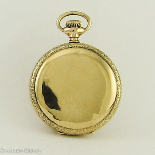 Waltham 14K gold Pocket Watch Pocket Watches - Ashton-Blakey Vintage Watches