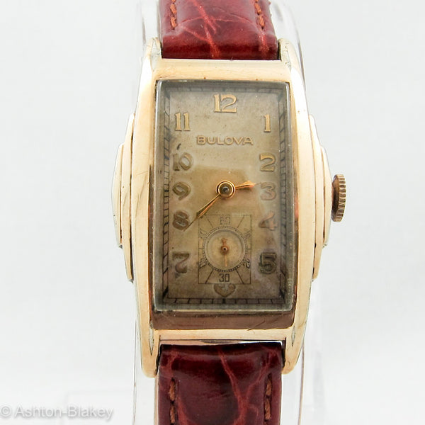 VINTAGE BULOVA Curvex Style Watch Vintage Watches - Ashton-Blakey Vintage Watches