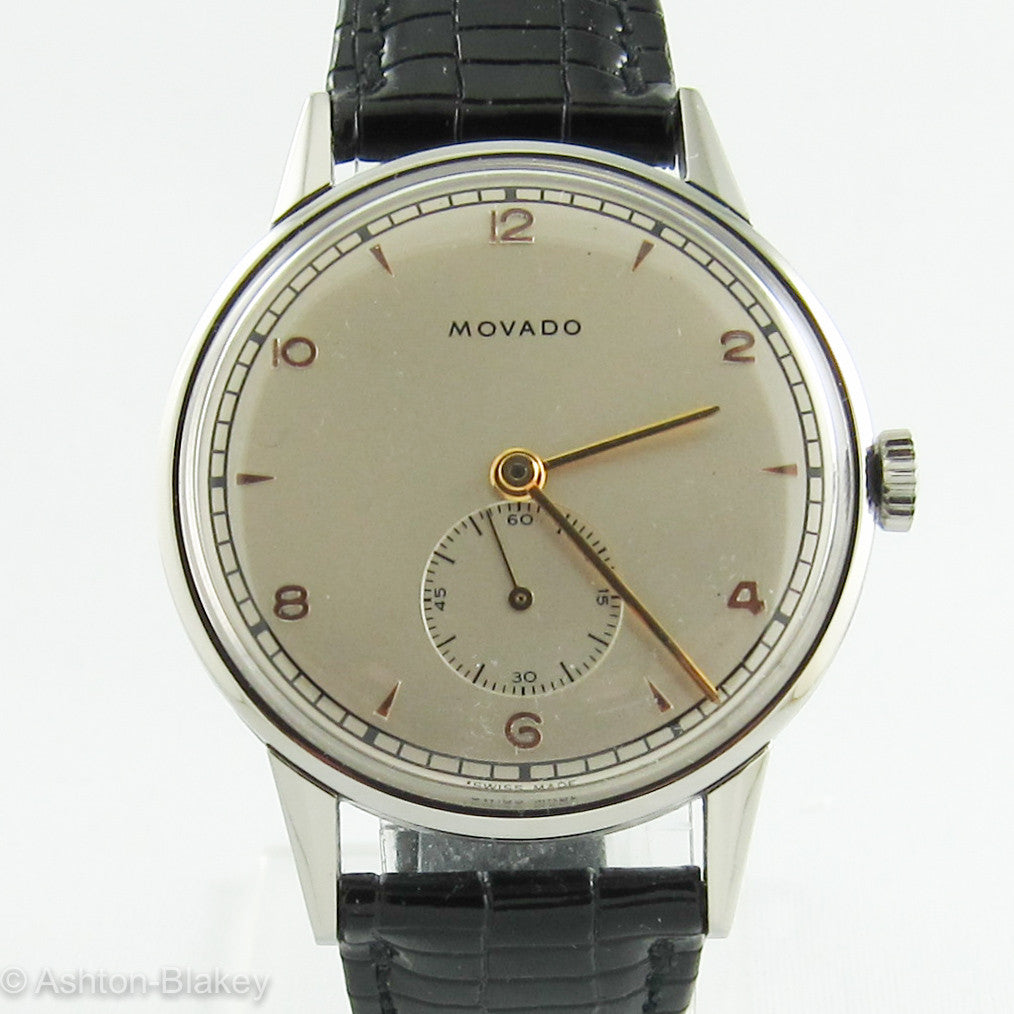MOVADO  Stainless Steel Vintage Watch Vintage Watches - Ashton-Blakey Vintage Watches