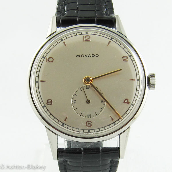MOVADO STAINLESS STEEL Vintage Watch