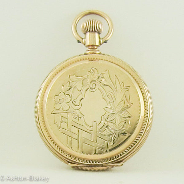 Waltham 14K Pocket Watch Pocket Watches - Ashton-Blakey Vintage Watches