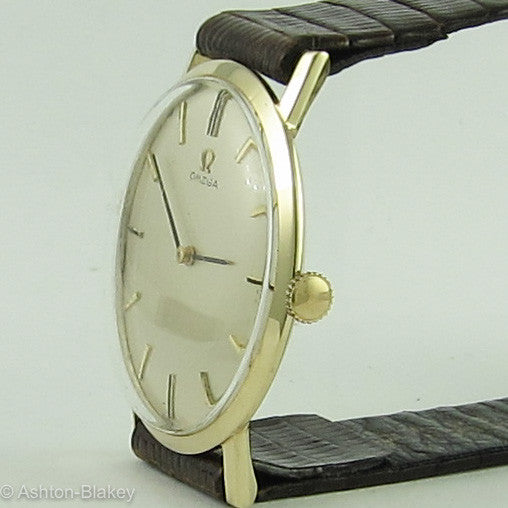 Omega 14K Gold Ultra Slim Vintage Watches - Ashton-Blakey Vintage Watches