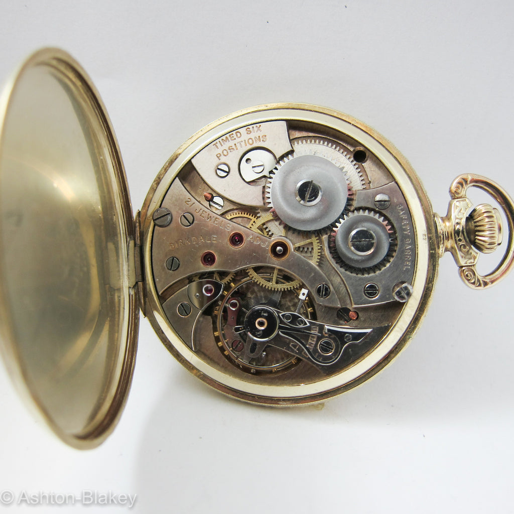 BIRKDALE man's open faced size 12 Pocket Watch