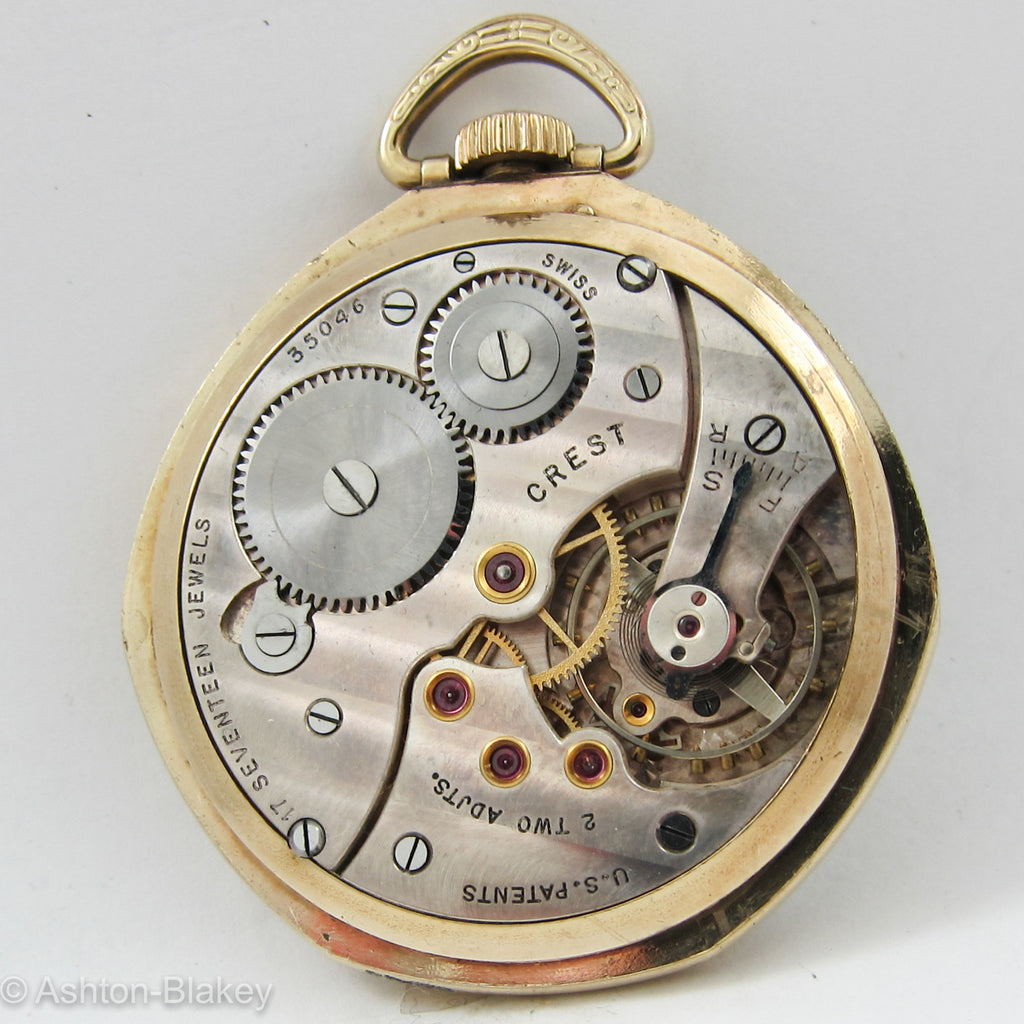 SWISS Pocket Watch Pocket Watches - Ashton-Blakey Vintage Watches