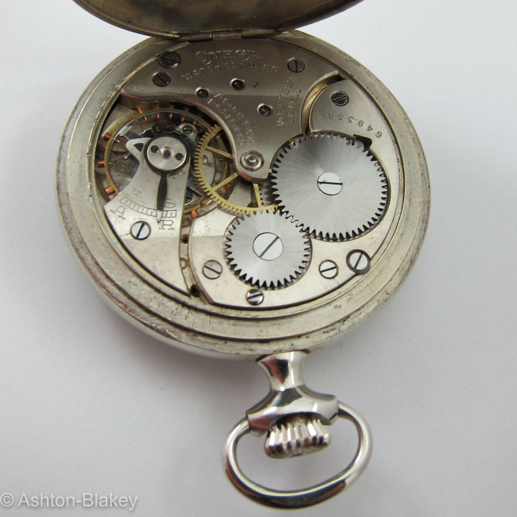 OMEGA Omega  Vintage  Pocket Watch Pocket Watches - Ashton-Blakey Vintage Watches