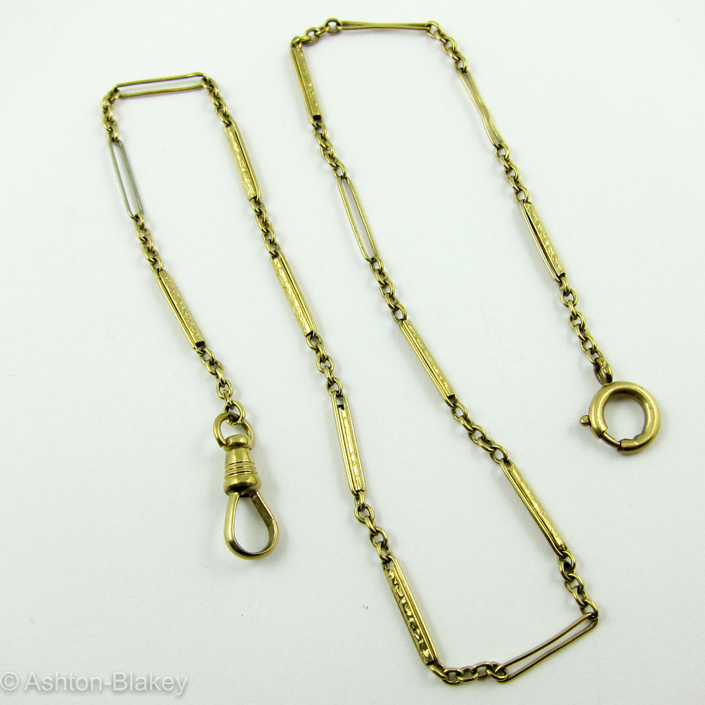 14K yellow gold Pocket Watch chain