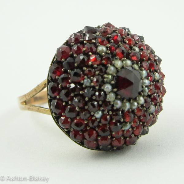 GARNET RING Jewelry - Ashton-Blakey Vintage Watches