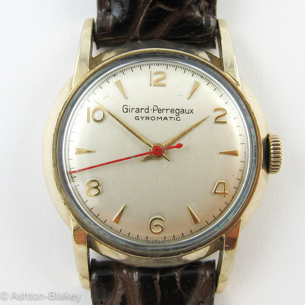 GIRARD-PERREGAUX VINTAGE WATCH Vintage Watches - Ashton-Blakey Vintage Watches
