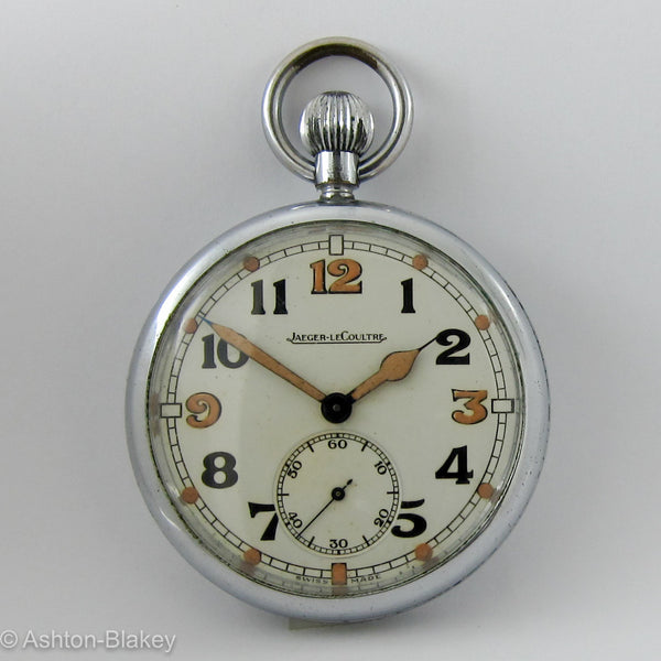 JAEGER LE COULTRE WWII Military British Navigators Watch Pocket Watches - Ashton-Blakey Vintage Watches