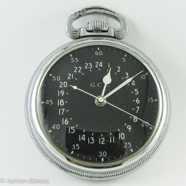 HAMILTON 4992B MASTER NAVIGATION Military Pocket Watch Pocket Watches - Ashton-Blakey Vintage Watches