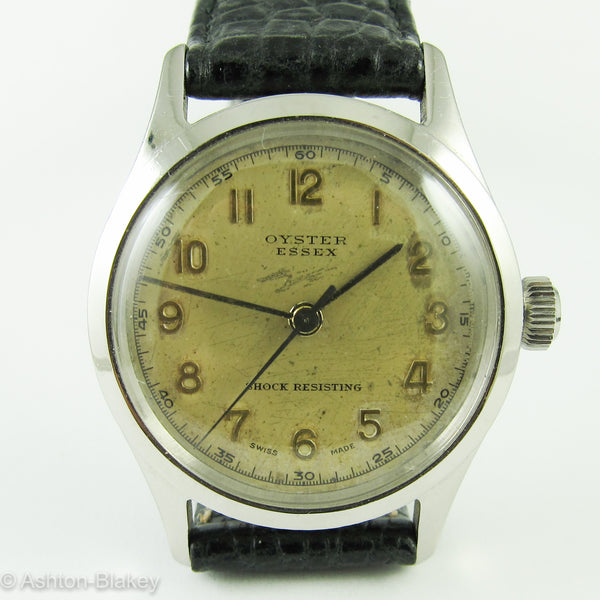 Rolex Oyster Essex Vintage Watches - Ashton-Blakey Vintage Watches