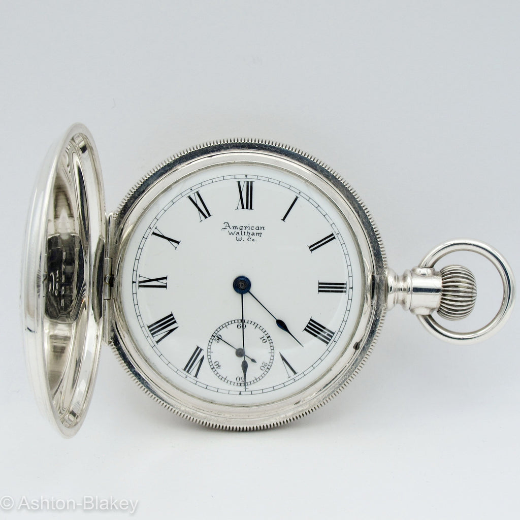 WALTHAM Silver  Pocket Watch Pocket Watches - Ashton-Blakey Vintage Watches