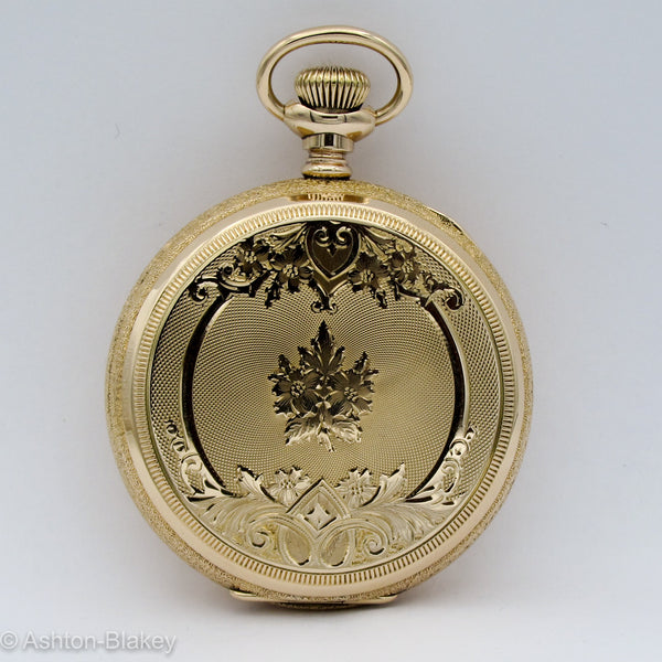 ELGIN Pocket Watch with Multicolor Dial Pocket Watches - Ashton-Blakey Vintage Watches