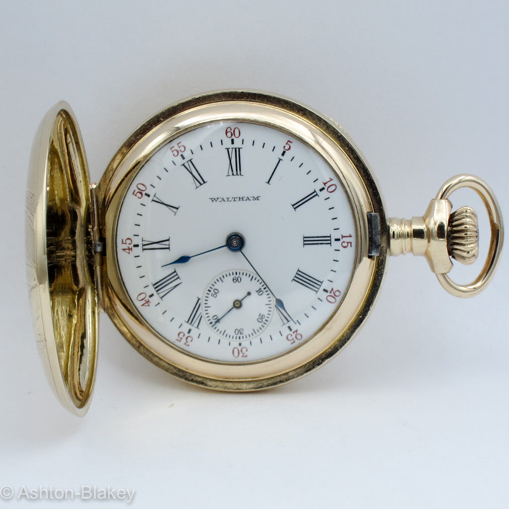 WALTHAM Lady's Pocket Watch Pocket Watches - Ashton-Blakey Vintage Watches