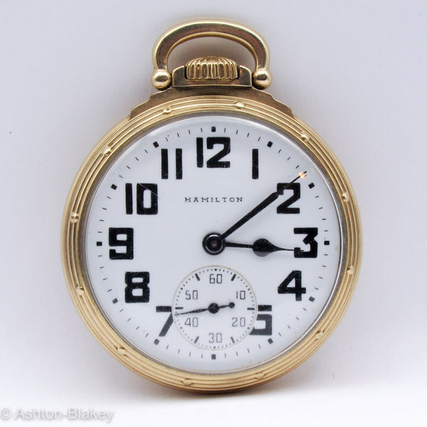HAMILTON Railroad Pocket Watches - Ashton-Blakey Vintage Watches