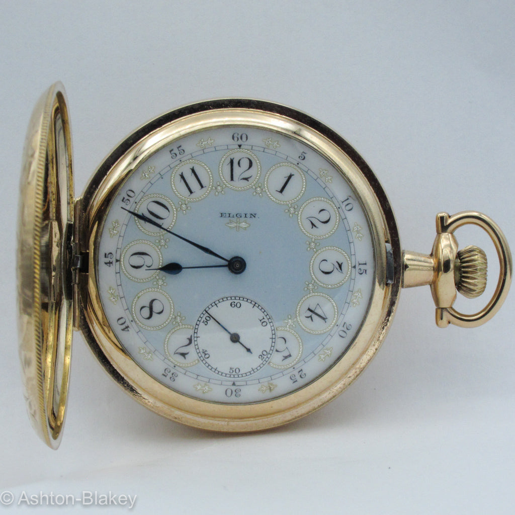 ELGIN Man's Multicolor dial Pocket Watch