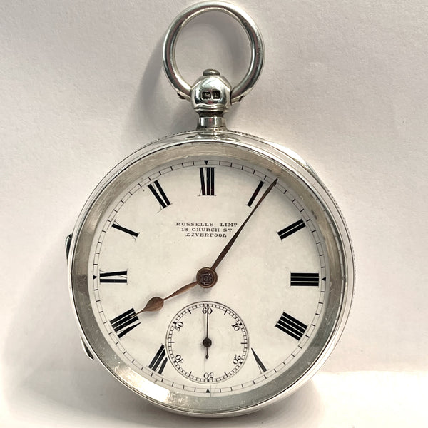 ROTHERHAM'S  Sterling Pocket Watch in Original Box
