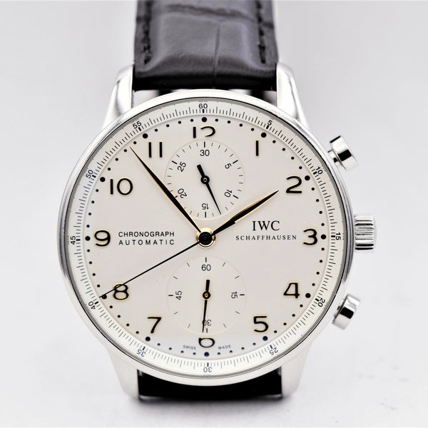 IWC Portuguese 3714 vintage watches - Ashton-Blakey Vintage Watches